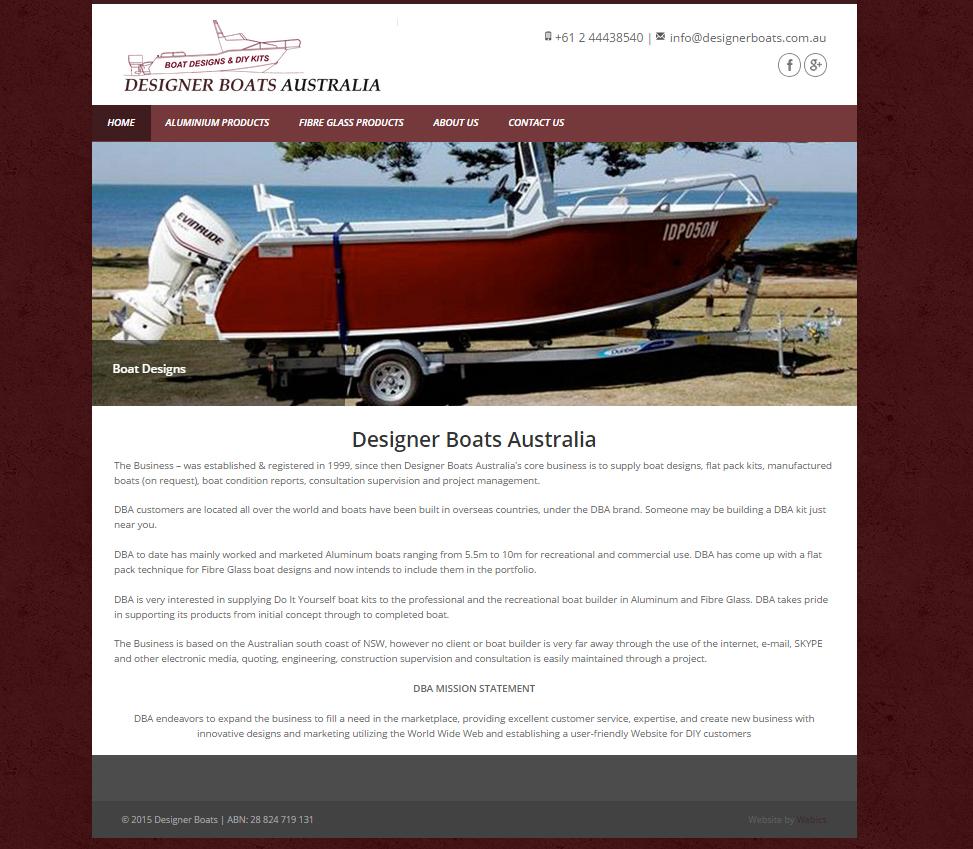 Designer boats australia boat designs diy kits solutioingenieria Gallery
